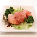 新川デリー - 料理写真:トマトサラダ