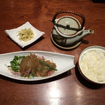 馬関 - 黒胡麻茶漬け