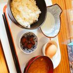 太紀家具 - 卵かけごはん定食380円
