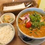 タイの食卓 クルン・サイアム - トムヤム・イェン 1080円