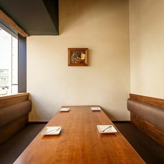 ≪個室≫個室は最大6名様までご案内◎銀座で貸切最大40名様!