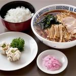 猪苗代湖畔のレストラン 中国料理 西湖 - 焼売セット(ランチ)
