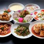 猪苗代湖畔のレストラン 中国料理 西湖 - おまかせ会食コース(4名様維以上)
