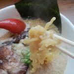 麺屋 海嵐 - 麺、腰が!