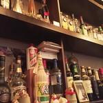 代官亭 - 酒壜たち