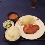 代官亭 - ロースカツランチ850円