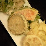 花むら - 野菜天ぷら盛り合わせ