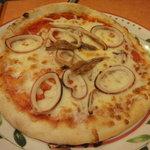 サイゼリヤ - マイカとアンチョビのピザ 399円