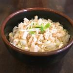 麺処 誠信 - 料理写真:とりネギ飯韓国ドレッシング