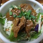 ゴールデン バガン - チェッ・アミィッヒン  砂肝のカレー煮
