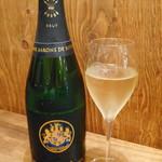 ロブスター&シャンパン Ebizo - シャンパン