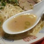 中華そば 三浦 - スープ