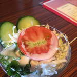 マルハバレストラン - 料理写真:ランチのサラダ