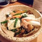 あぶさん - 貝にんにく炒め     ¥800