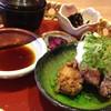 とろ麦 - 料理写真:ねぎおろしの塩麹からあげ定食(950円)
