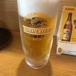 かねまつ - 生ビール @550-