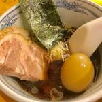 らーめん いまるや - 醤油のつけ汁【料理】