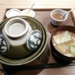 奏す庵 - ワセカツ丼 ¥980