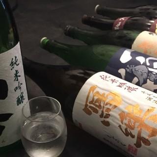 ★日本酒どれでも一杯500円★