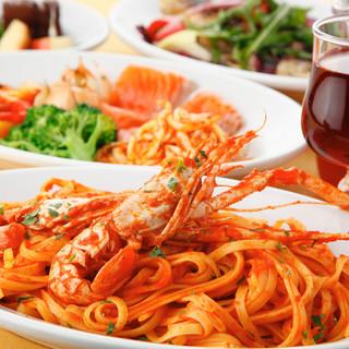本場イタリア彷彿の大皿コース/伝統のレシピディナーコース
