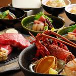 鉄板焼と和食 宴 - 豪華食材を使った鉄板会席もご用意しております。