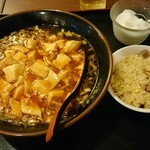 福萬年 - 麻婆麺&ミニちゃーはん。