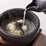 炭火串焼 白虎 - 石焼鶏ガラ茶漬け