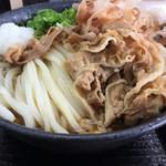 こだわり麺や - 料理写真:牛肉ぶっかけ(*゚∀゚*)