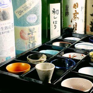おちょこ選びから日本酒を愉しめる