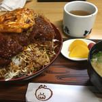 とん喜 - 料理写真:みそカツ丼定食