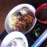 吾妻の里 - 豚の生姜焼き