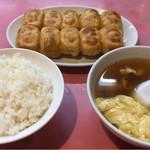 71029759 - 餃子定食