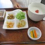 粥 秀記 - 料理写真:中華粥セット