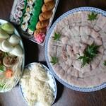 美幸 - ハモ鍋(¥3000)