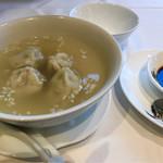 71031481 - 水餃子   スープも優しい美味しさです
