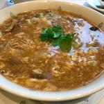 71031485 - 酸辣湯麺  かなりトロミのある、マイルドなお味です