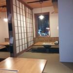 男の白ワイン専門料理店 suEzou 百福 - 半個室です