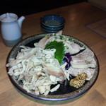 男の白ワイン専門料理店 suEzou 百福 - いろんな鶏料理