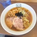 麺屋 翔 - ラーメン 太麺 普通盛 600円