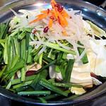 もつ鍋山笠 - 料理写真:モツ鍋