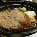 弐乃雪屋 - 鍋 物  道産牛すき焼き