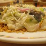 銀座 吉宗 - 皿うどん細麺