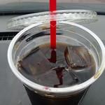 Kafefuramingo - アイスコーヒー(上から)