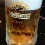 伊達な郷土料理と原始焼 牡鹿半島 - 生ビール