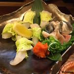 季節料理 薗 - 河豚ブツ