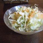元気亭 - サラダ