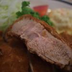 とんかつ宮島 - 料理写真:ロース断面