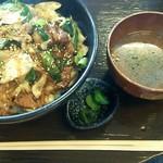 焼肉セブン - 料理写真:日替りランチ カルビ丼(中) \500