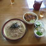三原屋食堂 - 料理写真:ミニソースかつ丼セット