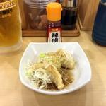 71046151 - ネギまみれ餃子天ぷら